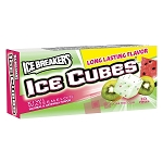 Ice Breakers Ice Cubes Kiwi Watermelon Gum, (Pack of 8)