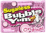 Bubble Yum Sugar Free Original Bubble Gum, (Pack of 12)