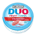 Ice Breakers Strawberry Duo Mints, (Pack of 8)