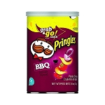 Pringles Barbecue Flavor Chips, (Pack of 12)