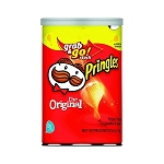 Pringles Original Flavor Chips 2.5 Ounce Packs, (Pack of 12)