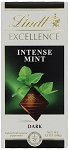 Lindt Excellence Intense Mint Dark Chocolate Bars, (Pack of 12)