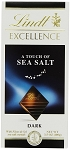 Lindt Excellence Sea Salt Dark Chocolate Bars, (Pack of 12)