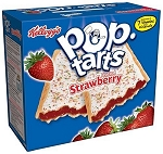 Kelloggs Frosted Strawberry 6 Piece Box, (Pack of 12)