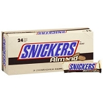 Snicker Almond Bar, (Pack of 24)