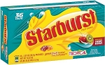 Starburst Tropical Fruit Candy, (Pack of 36)