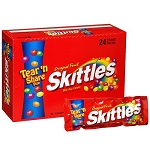 Skittles King Size Original Candy, (Pack of 24)
