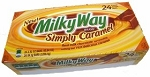 Milky Way Simply Caramel, (Pack of 24)