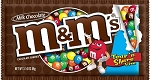 King Size M and M Plain Candy Bags, (Pack of 24)