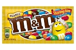 King Size M and M Peanut Candy Bags, (Pack of 24)