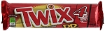 King Size Twix Peanut Butter Candy, (Pack of 24)