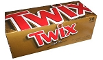 Twix Candy Bars, (Pack of 36)
