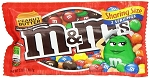 King Size M and M Peanut Butter Candy Bags, (Pack of 24)