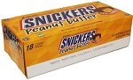 Snickers Peanut Butter Squared Candy Bars, (Pack of 18)