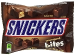 Snickers Unwrapped Bites Candy, 2.83 Ounces, (Pack of 12)