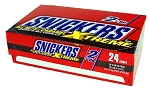 King Size Snickers All Nuts and Caramel Xtreme Candy, (Pack of 24)
