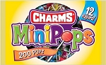 Charms Mini Pops Lollipops, (Pack of 48)
