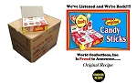 Master Case Candy Cigarettes24 Boxes, (Pack of 24)