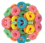 Ferrara Pan Bulk Sour Gummy Rings, 5 Pound Bag
