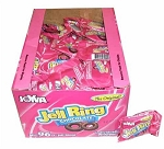 Joyva Chocolate Covered Raspberry Jelly Rings, (Pack of 96)