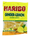 Haribo Ginger Lemon, 4 Oz Bags (Pack of 12)