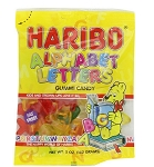 Haribo Alphabet Letters, 5 Oz Bags (Pack of 12)