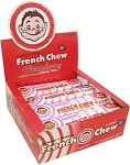Doschers Strawberry French Chew Taffy 1.62 Ounce Bars, (Pack of 24)