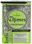 Chimes Original Ginger, 2 Oz Tins (12 Pack)