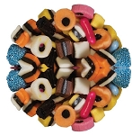 Mc Keever and Danlee Mini Licorice All Sorts, 4.4 Pounds