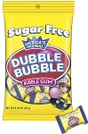 Sugar Free Dubble Bubble Bubble Gum 3.25 Ounce Packs, (Pack of 12)