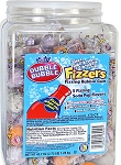 Dubble Bubble Fizzers Fizzing Bubble Gum, (Pack of 170)