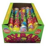 Cry Baby Sour Gumball Tubes, (Pack of 24)