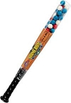 Dubble Bubble Baseball Bats Filled With Gum, (Pack of 24)