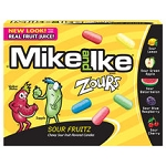 Mike and Ike Zours Candy Movie Size Box, (Pack of 12)