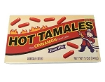 Hot Tamales Retro Box Candy 5 Ounce Movie Size Box, (Pack of 12)