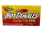 Hot Tamales 3 Alarm Movie Theater Size Boxes, (Pack of 12)