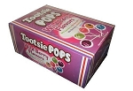 Tootsie Pops Wild Berry Lollipops, (Pack of 100)