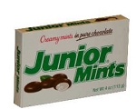 Junior Mints Candy Movie Theater Size Boxes, (Pack of 24)