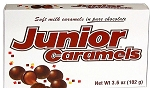 Junior Caramels Candy Movie Theater Size Boxes, (Pack of 12)