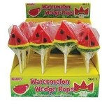 Alberts Watermelon Wedge Pops, (Pack of 36)