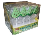 Alberts Green Apple Wedge Pops, (Pack of 36)