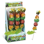 Bug Bites Kabobs Jelly Pops, (Pack of 24)