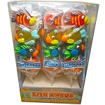 Fish Kabobs Jelly Pops, (Pack of 24)