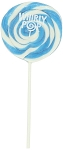 Light Blue Whirly Pops 1.5 Oz, (24 Pack)