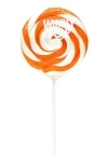Orange Whirly Pops 1.5 Oz, (24 Pack)