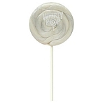 White Whirly Pops 1.5 Oz, (24 Pack)