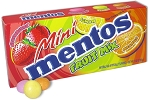 Mentos Mini Fruit Mix Movie Theater Size Boxes, (Pack of 12)