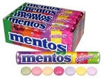 Mentos Rainbow Candy, (Pack of 15)