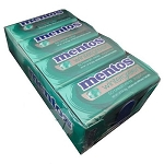 Mentos Wintergreen Mint Breath Mints, (Pack of 12)