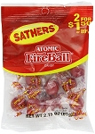 Sathers Atomic Fireballs, (Pack of 12)